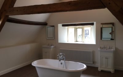 CASE STUDY: Oddington Farmhouse – Interior painting